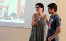Eulalia Sánchez imparteix un curs sobre baixa visió a la Universidad Nacional Autónoma de Nicaragua (UNAN)