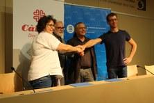 La UPC i Càritas Diocesana de Terrassa signen un conveni per atendre la salut visual de persones sense recursos