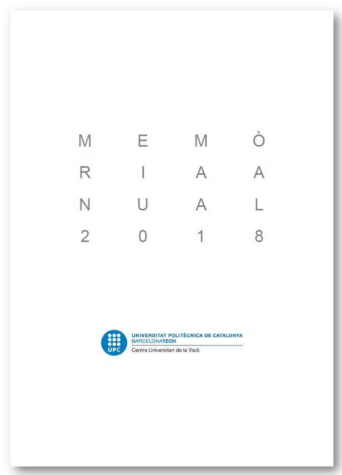 Memòria 2018 (portada)