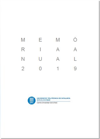 Memòria 2019 (portada)