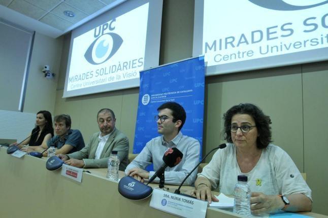 Núria Tomàs presenta #MiradesSolidàries
