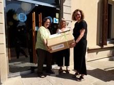 OPTICA2000 dona 400 monturas para la acción social del CUV